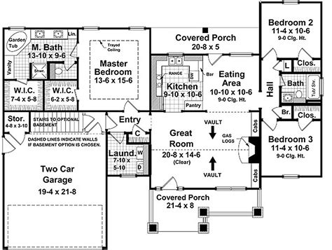 machine shed house floor plans craftsman style house plan 3 beds 2 baths 1509 sq ft