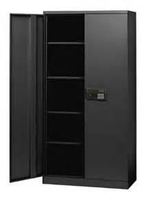 Electronics Storage Cabinet Sandusky Kde7236 09 Black Steel Snapit Storage Cabinet Keyless Electronic Lock