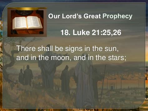 prophecy in the sun moon and stars is this biblical bible answers 13 our lord s great prophecy