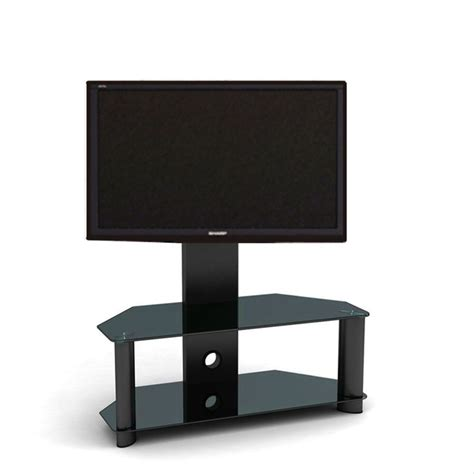 Lcd Tv Stand Bracket excellent cantilever glass tv stand with bracket for