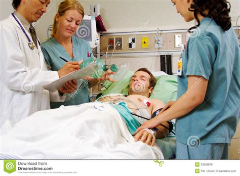patient in emergency room patient on stretcher in emergency room royalty free stock images image 33506879