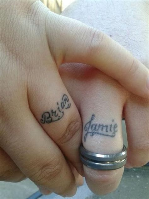 tattoo name band designs tattoo wedding ring with name creativefan