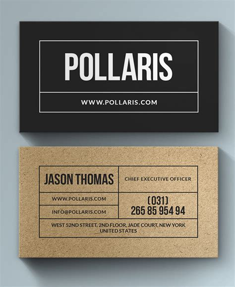 printable kraft paper business cards business cards design 26 ready to print templates