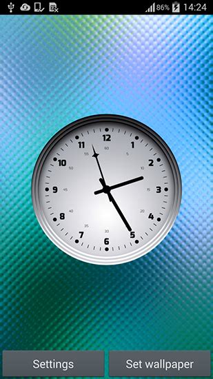 themes clock gratuit multicolor clock pour android 224 t 233 l 233 charger gratuitement