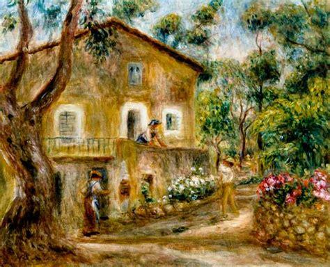 plaque plexiglass sur mesure 1841 the maison de collette in cagnes auguste renoir