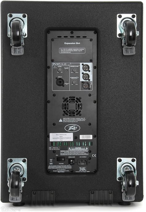 Audio Prosessor Sub peavey pvxp sub pro audio powered 940 watt 15 quot subwoofer dsp processing sub ebay