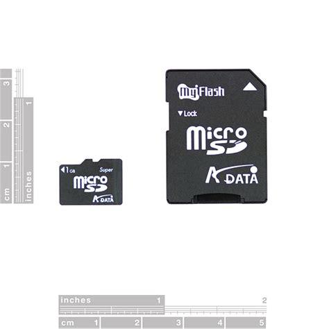 Micro Sd 1gb flash memory microsd 1gb 08163 sparkfun electronics