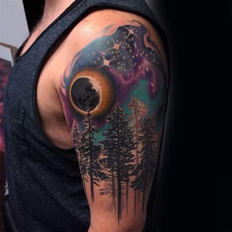 tatuajes de bosques