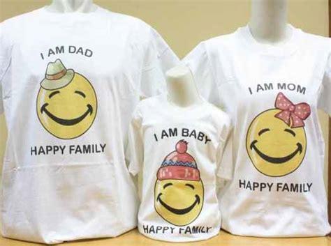 Kaos 46 The Doctor Mgp 72 kaos keluarga mv family i am smiley family kaos keluarga