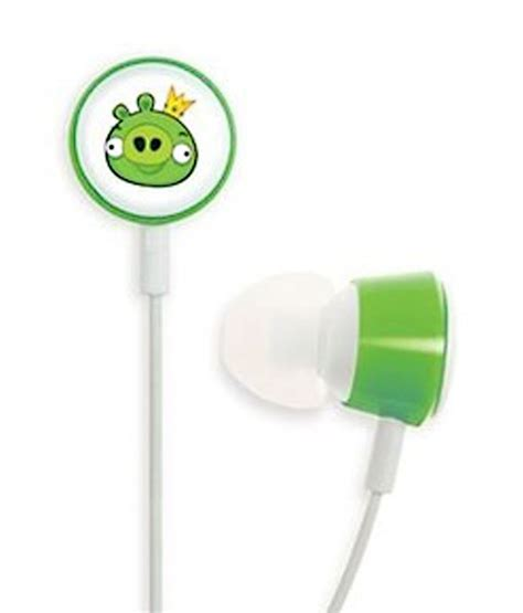 Headset Earphone Headphone Angry Bird An 40 buy angry birds hab003g in ear earphones at best price in india snapdeal