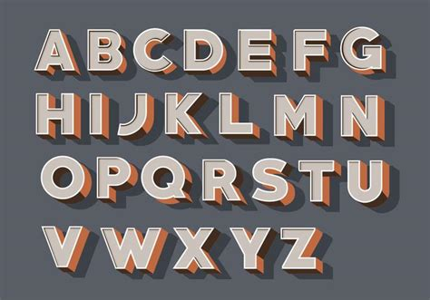 design system font download free 3d fonts vector pack download free vector art stock