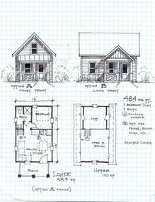 cabin plans small free with lofts tiny cottage house floor houses