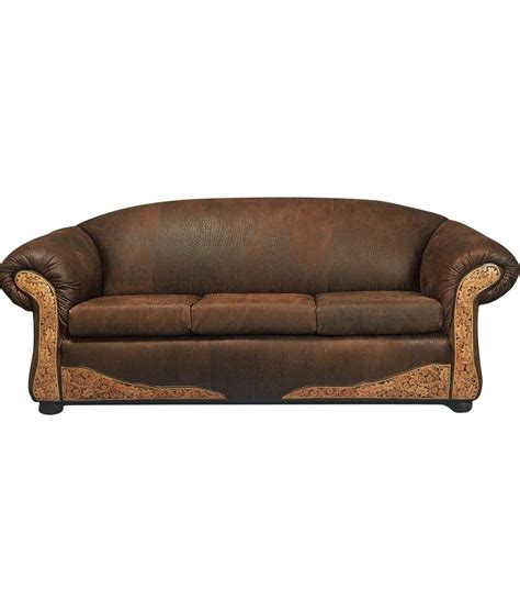 santa fe leather sofa