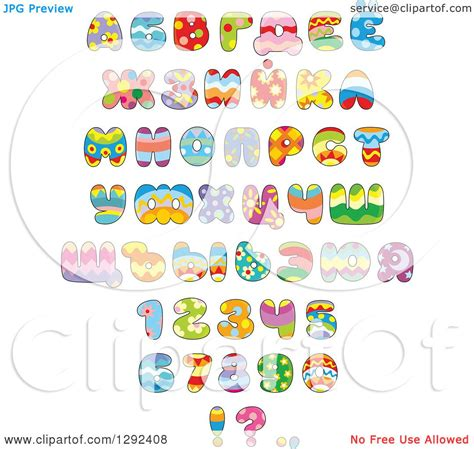 printable easter alphabet letters free colorful alphabet clipart 71