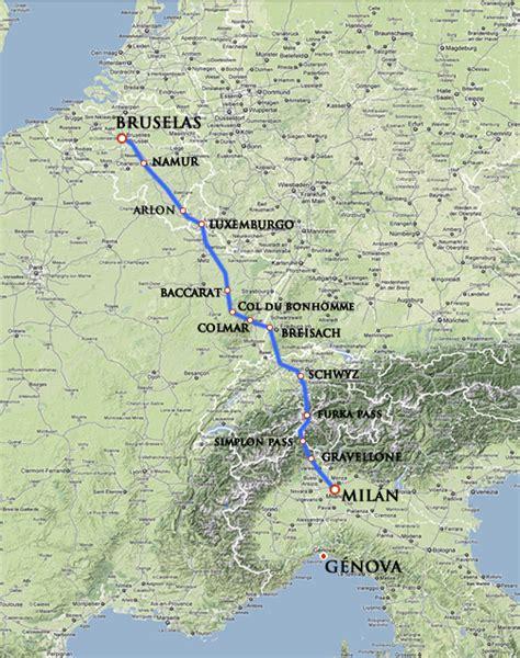el camino de los el camino espa 241 ol de 1620 por los cantones suizos paperblog