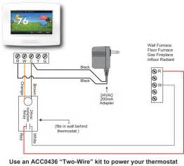 hvac thermostat wiring diagram