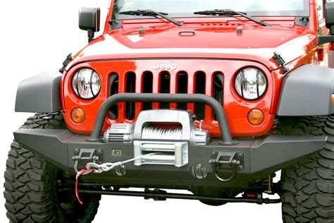 2007 2016 jeep wrangler rugged ridge front xhd bumper