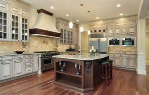 Two Colored Kitchen Cabinets Kitchen Color Ideas
