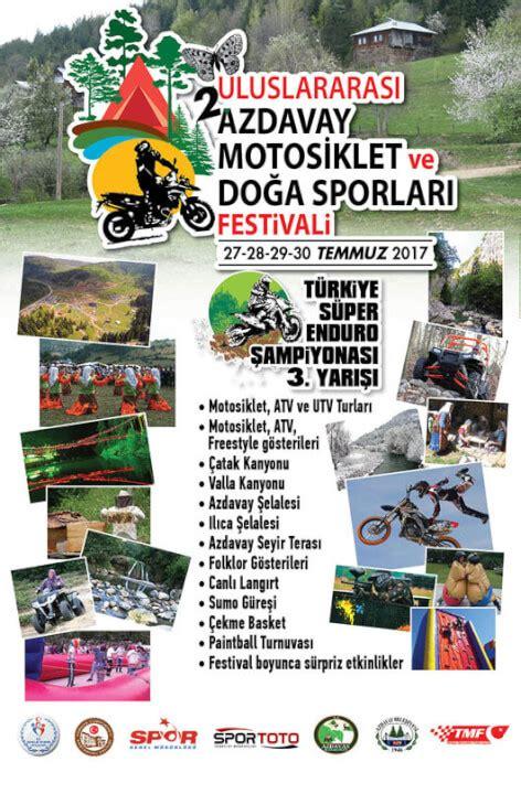 azdavay uluslararasi motosiklet ve doga sporlari festivali