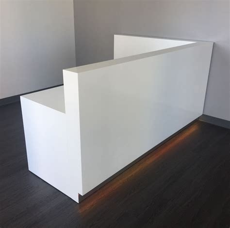 Buy A Hand Crafted Dallas L Shape Reception Desk Made To Buy Reception Desk