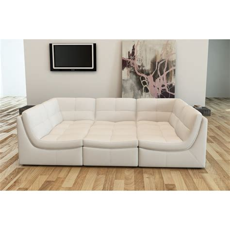 modular sectional sofa leather contemporary luxury furniture living room bedroom la