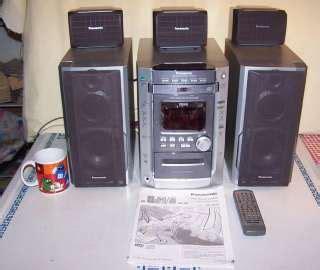panasonic sa ht700 dvd player home theater surround sound