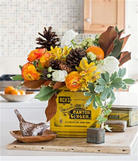 fall centerpieces for tables beautiful fall centerpieces midwest living