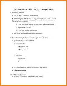 apa paper outline template 5 apa outline template resume pictures