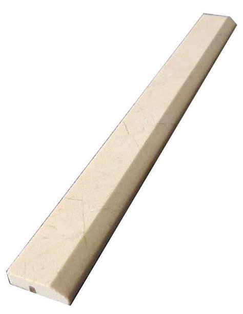 crema marfil marble bullnose honed marble trim