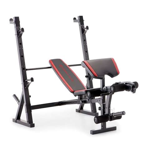marcy weight bench attachments marcy deluxe olympic weight bench mkb 957