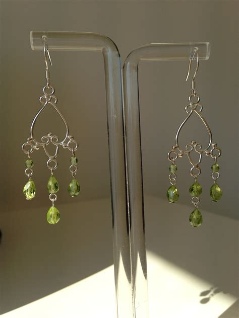 Peridot Chandelier Earrings Peridot Chandelier Earrings Made By Marianne