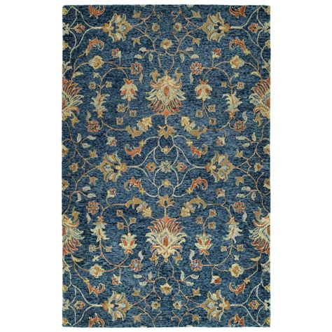 10 5 Ft X 8 Ft Rug by Kaleen Chancellor Denim 5 Ft X 8 Ft Area Rug Cha05 10
