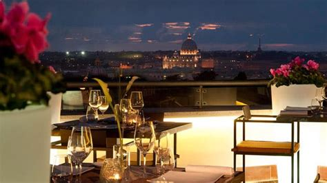 roof top bar rome la terrasse cuisine lounge rooftop bar in rome