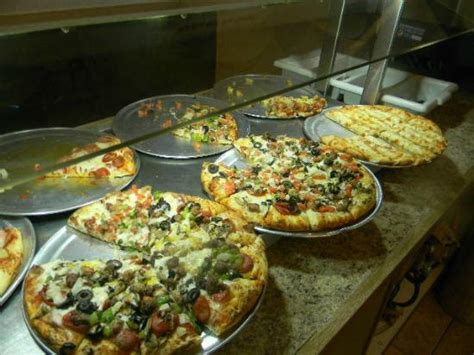 Vegetarian Pizza Picture Of Mountain Mike S Mountain Mountain Mikes Buffet Hours