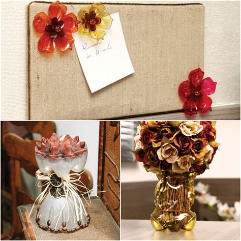 Craft Ideas For Home Decoration 3 Easy Craft Ideas For Recycling Plastic Bottles In The Home Decor
