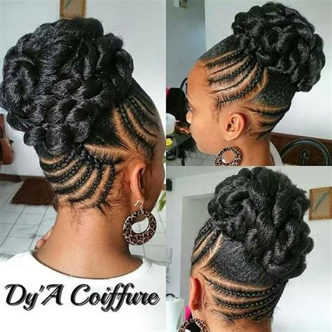 elegant up sweep cornrow styles 17 best images about elegant hairstyles on pinterest