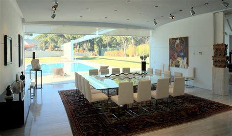 villa  madrid  arredamento moderno  contemporaneo