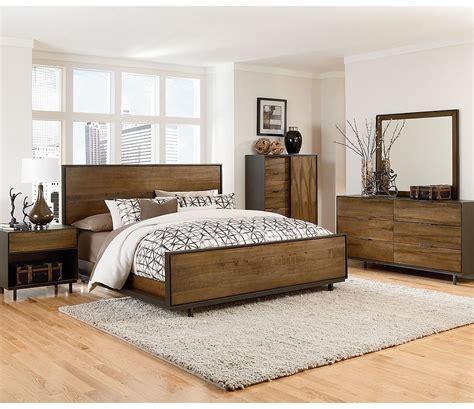 magnussen danica  piece panel bedroom set