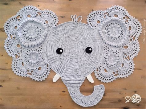 Crochet Elephant Rug by Image Of Victor Or Elephant Rug Baby Shower