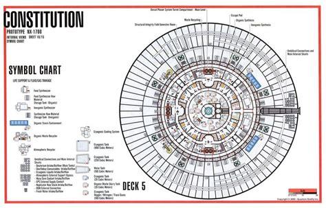 uss enterprise floor plan deck 5 constitution class wallpaper pinterest decks