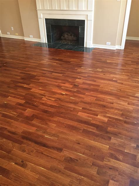 refinish mesquite hardwood floors