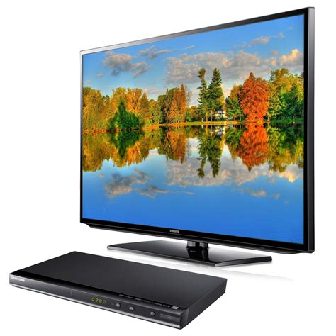 Tv Lcd 46 quot hd led lcd tv dvd player samsung ue46eh5450 dvd d530