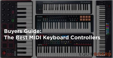 best midi controller 5 best midi keyboard controllers to success 2017