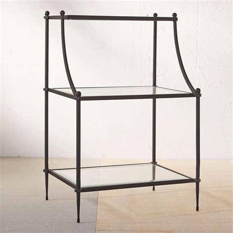 etagere outfitters pottery barn etagere bedside table copy cat chic