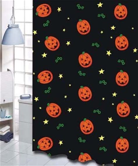 pumpkin shower curtain halloween pumpkin shower curtain shower curtains by