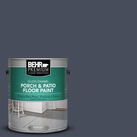 Behr Porch And Floor Paint behr premium 1 gal s510 7 denim gloss porch and patio floor paint 673001 the home depot