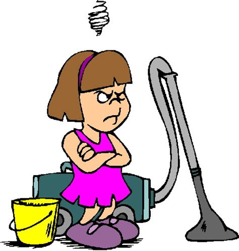 chores clipart a home schooling s chore chart no excuses clipart