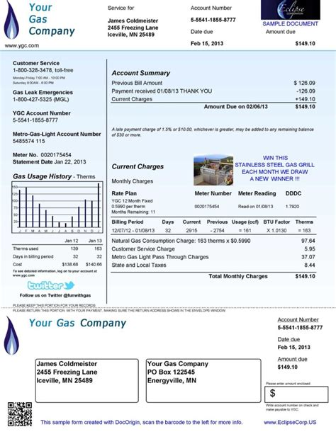 free utility bill template beautiful electric bill template gallery resume ideas