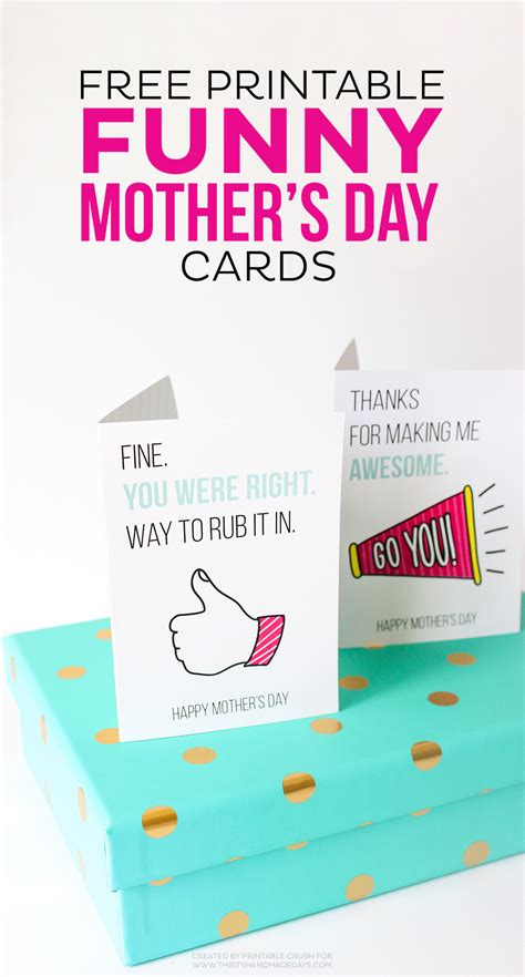 printable mothers day cards for to make free printable s day cards thirty handmade days