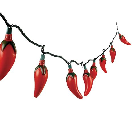 Outdoor Chili Pepper Lights Chili Pepper Light Set Trading